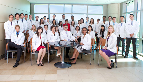 Our Charter Class. Photo courtesy of the College of Medicine website.