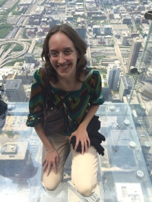 Viewing the city from the Sears Tower