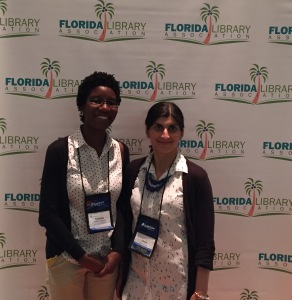 Shalu and Natasha at FLA 2015