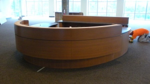 Installing the Front Desk