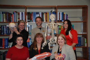 Some of our Original Library Staff