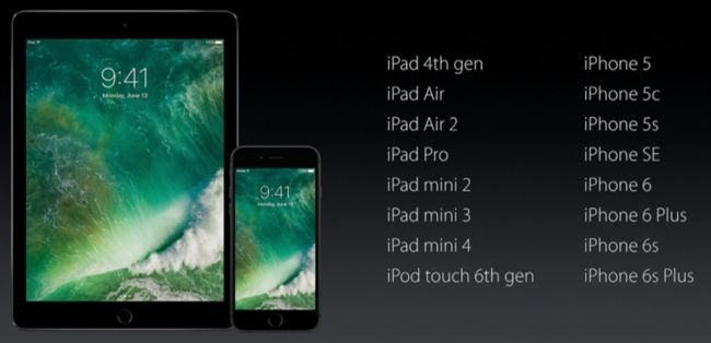 If you own any of these devices, you're in luck! iOS 10 is compatible. http://www.techradar.com/us/news/software/operating-systems/ios-10-release-date-news-beta-and-rumors-1311275